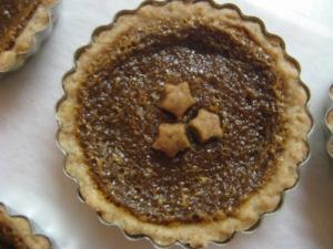 My sugar pie. Crust is vegan filling is not.  Photo by Kimberley (c)2013