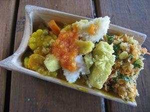 Ital dish from the Rastafarian Village near Montego Bay Photo by Kimberley (c)2013