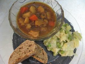 Photo by Kimberley (c)2014 Irish Stew, Colcannon and Irish Soda Bread