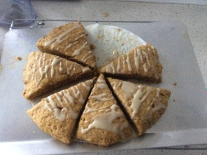 Pumpkin scones Photo by Kimberley (c)2014